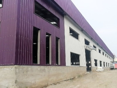 汉沽家具产业园项目采用天物聚酯彩涂板