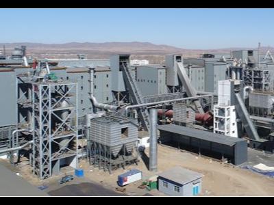 吉铁300万吨铁合金产品系列项目采用天物聚酯彩涂板