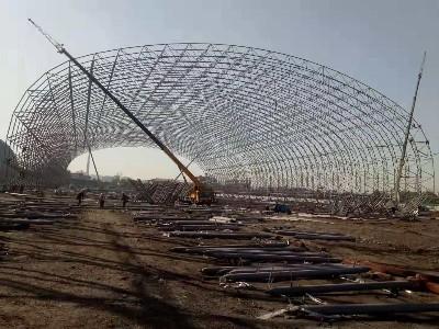鞍钢集团厂区建设采用天物镀铝锌150克高耐候彩涂板